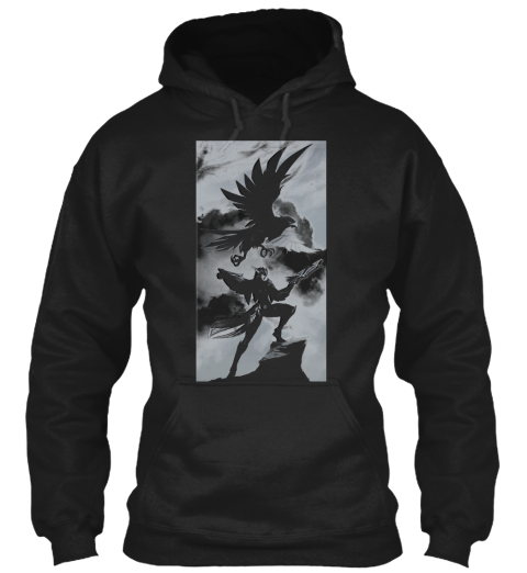 Quinn   Demacia's Wings   Lol Black Sweatshirt Front