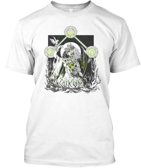 Something Wicked White T-Shirt Front