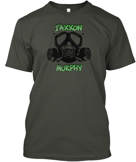 Jaxxon Murphy Gear Smoke Gray T-Shirt Front