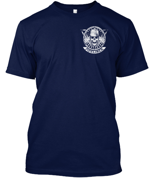 Pipeliner Navy T-Shirt Front