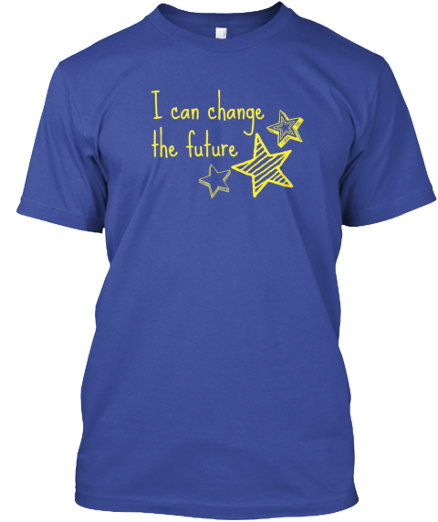 Childhood Cancer Awareness T Shirts Deep Royal Camiseta Front