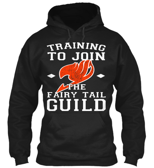 Training To Join The Fairy Tail Guild  Sweatshirt Front