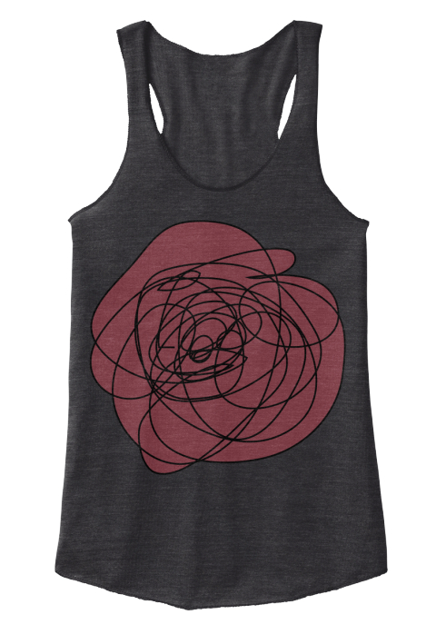 Drawing Eco Black Women's Tank Top Front