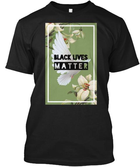 Black Lives Matter Floral Dove Print - BLACK LIVES MATTER Products ...
