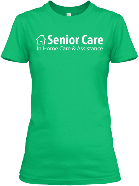 Green Woman Senior Care Kelly Green Women's T-Shirt Front