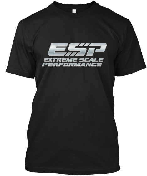 Extreme Scale Performance Modern T-Shirt Front