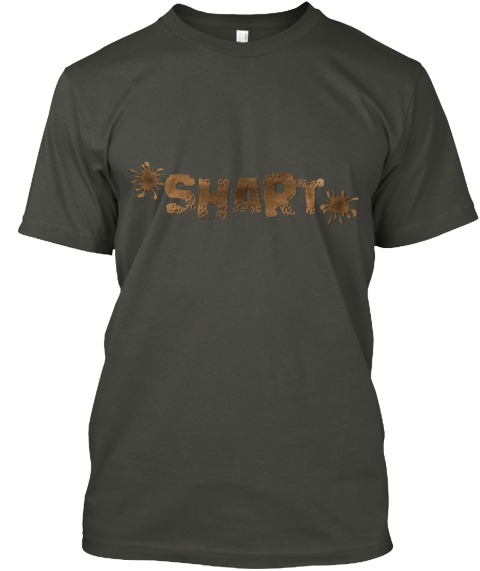 Shart Smoke Gray Camiseta Front
