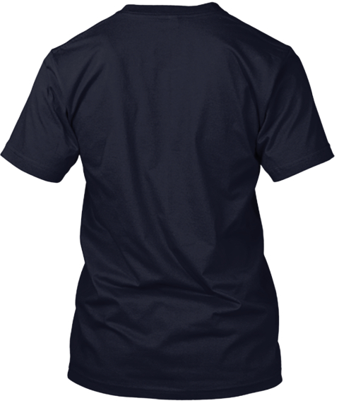 Keep Calm And Tpt! Navy T-Shirt Back