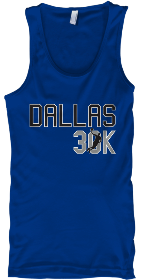 Dirk 30 K Points Shirt True Royal T-Shirt Front