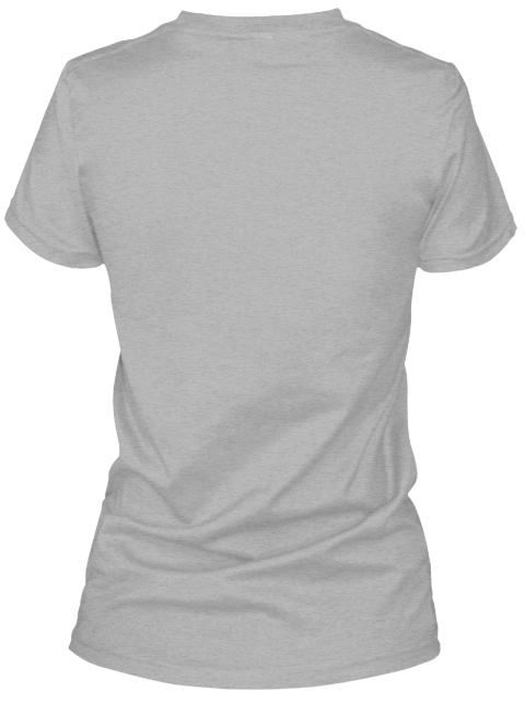 House Of #Ed Tech Ladies Tee Sport Grey T-Shirt pour Femme Back