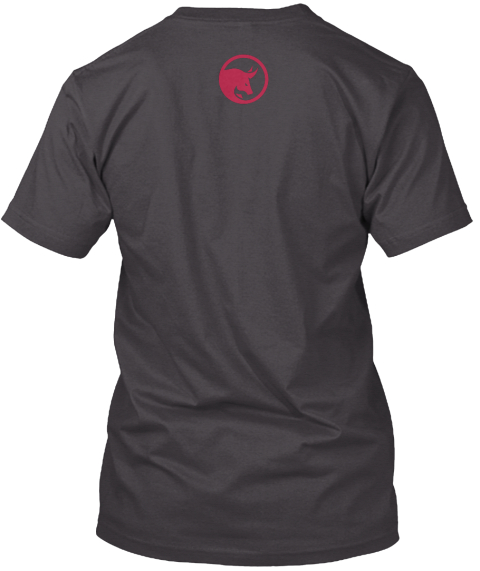 Fip 2016 Black/Red Logo Heathered Charcoal  T-Shirt Back