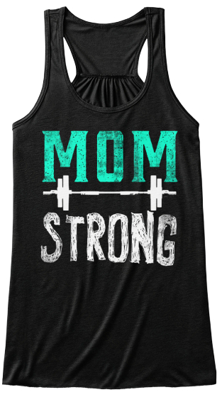 Mom Strong Women's Tank Top Front