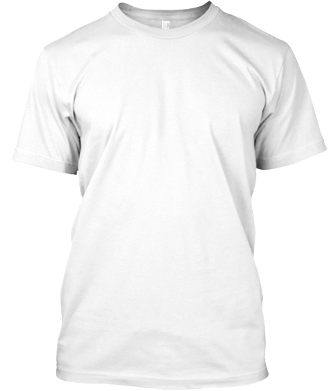 Polycount Greentooth Back White T-Shirt Front