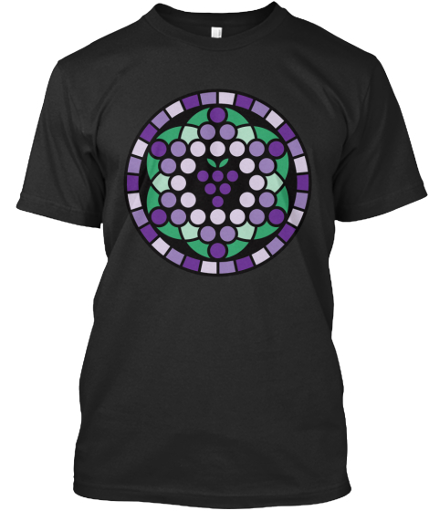 Grape Of Life T-Shirt Front