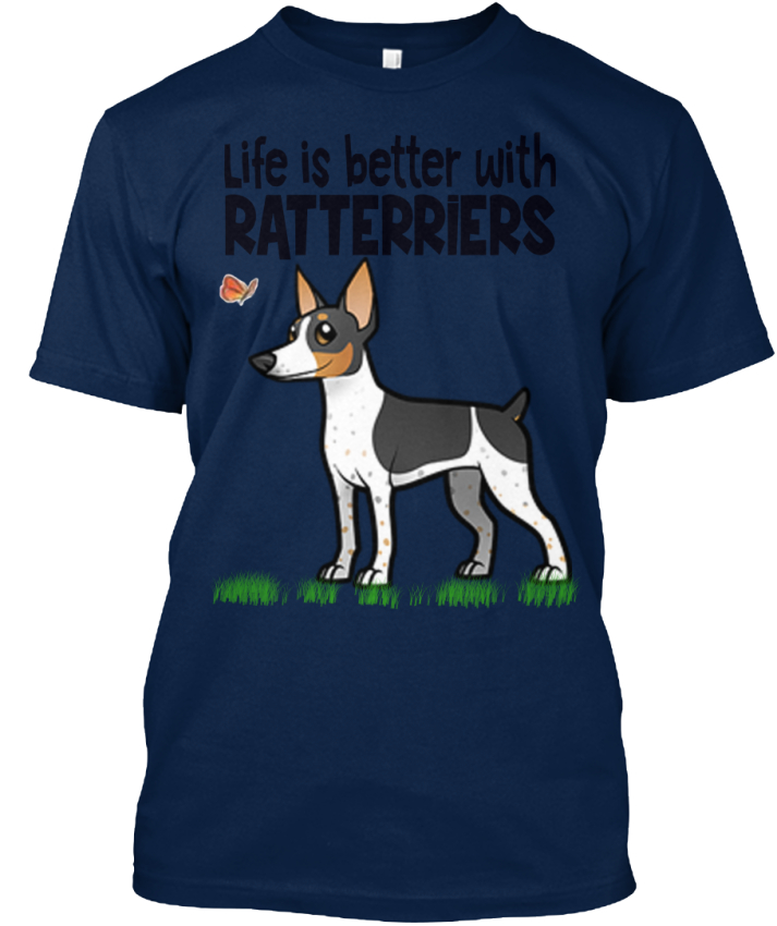 Rat-Terriers-Life-Is-Better-With-Ratterriers-Standard-Unisex-T-Shirt