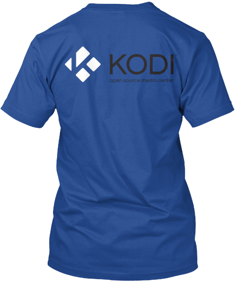 Kodi Hero Shirt Deep Royal T-Shirt Back