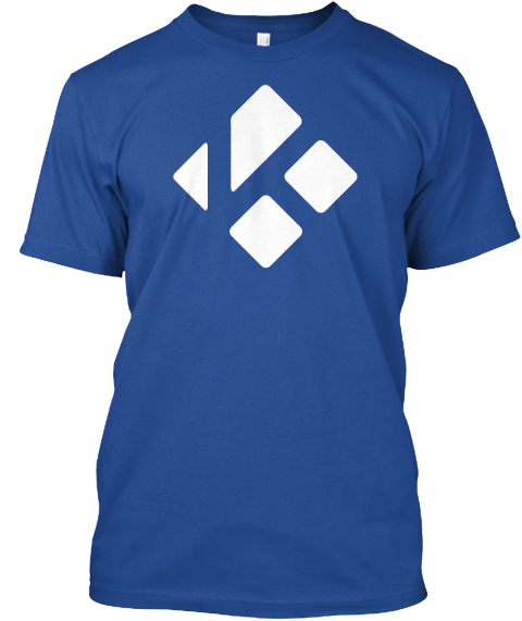 Kodi Hero Shirt Deep Royal T-Shirt Front