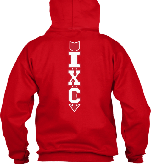 Independence Cross Country 2014 Red Sweatshirt Back