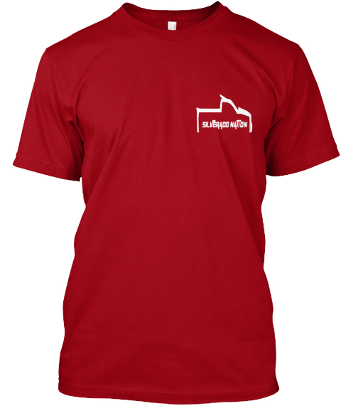 Limited Edition Silverado Nation  Tees Deep Red T-Shirt Front
