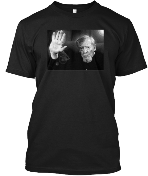 The Jess Franco Tee Black T-Shirt Front