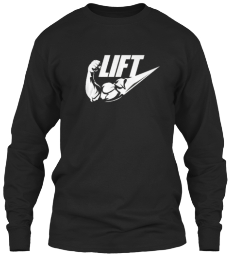 Lift Tee Limited Edition Black T-Shirt Front