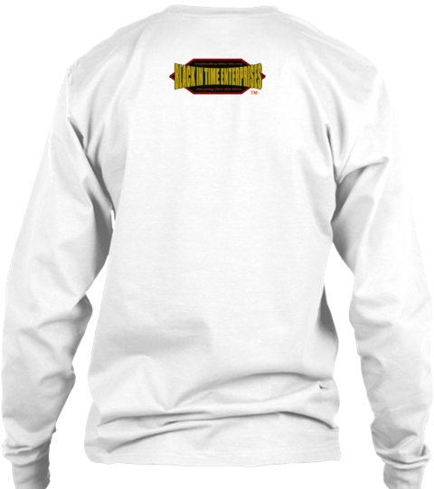Frederick Douglass   Vote Your Power Tee White Long Sleeve T-Shirt Back
