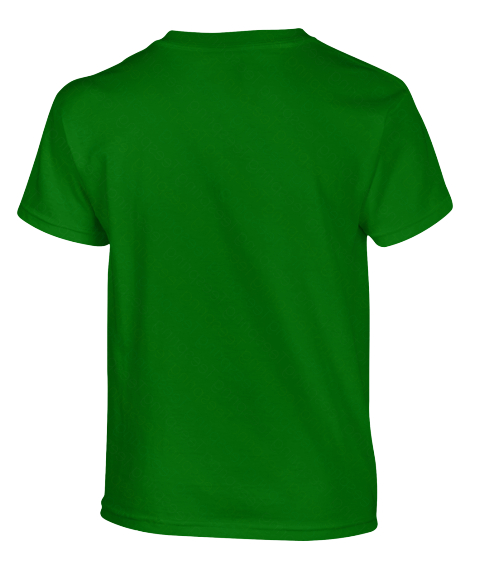 Hang In There Superman Sam   Kids Irish Green T-Shirt Back