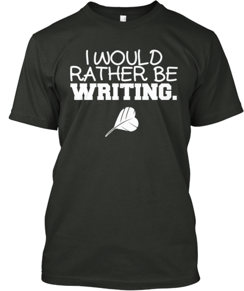 Limited Ed. I'd Rather Be T Shirt Black T-Shirt Front