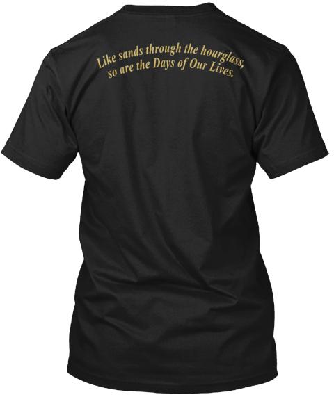 203df409e 'days Of Our Lives' Apparel Black T-Shirt Back. '