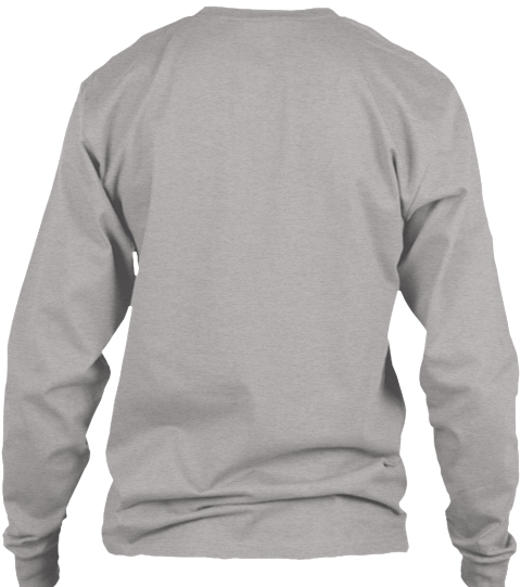 Nightscout Long Sleeve Campaign Light Steel Long Sleeve T-Shirt Back