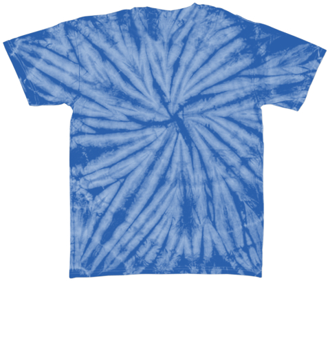 Tie Dye Fun With Million People For Pets Royal T-Shirt Back