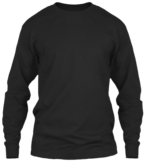 Limited Edition &Quot;Turtle Geeks Rule&Quot; Tee Black Long Sleeve T-Shirt Front