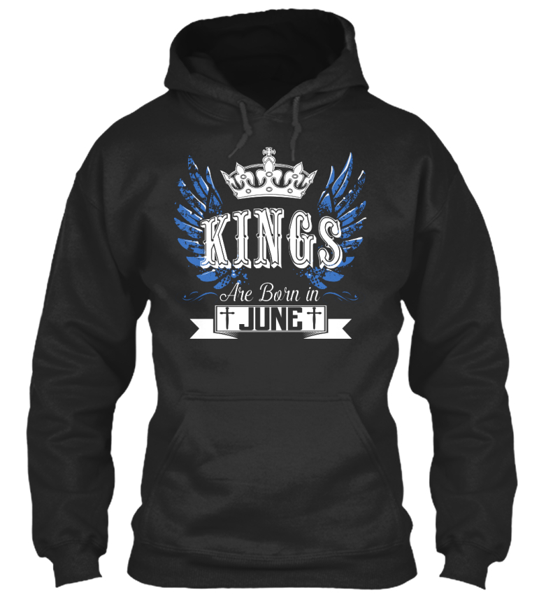 One-of-a-kind-Kings-Are-Born-In-June-Standard-College-Standard-College-Hoodie