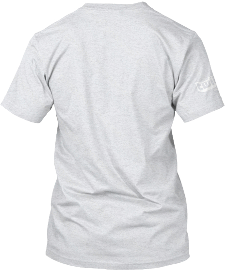 Support Our Regional Tech Scene Ash T-Shirt Back
