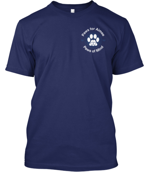 Keep Calm And... Take The Bloody Shot! Navy T-Shirt Front