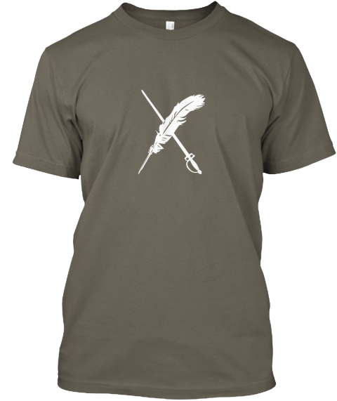 The Weekend Writing Warriors Blog Hop Lieutenant T-Shirt Front