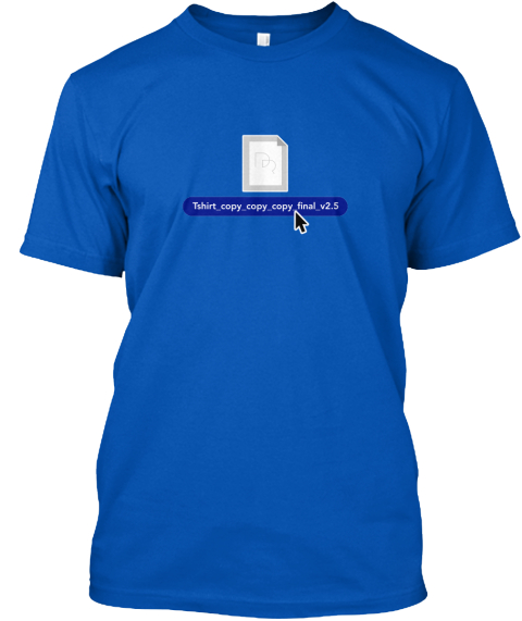 Support The Design Review Podcast! Royal T-Shirt Front