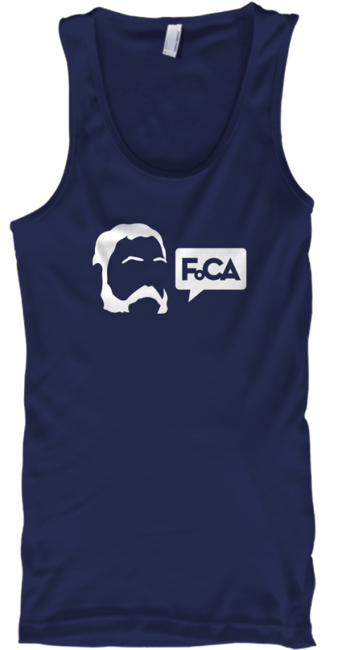 Friends Of Chester Arthur Navy Tank Top Front