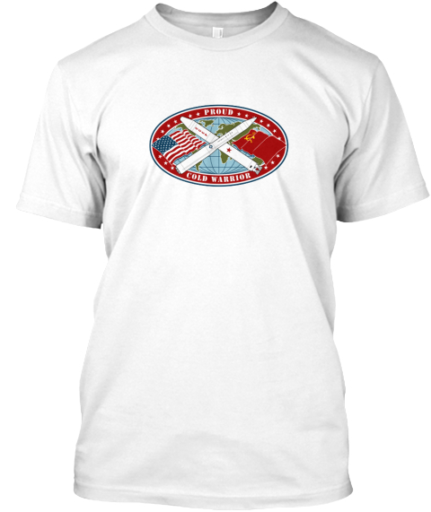 Proud Cold Warrior White T-Shirt Front