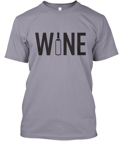 The Wine Condom Apparel Launch. Slate T-Shirt Front