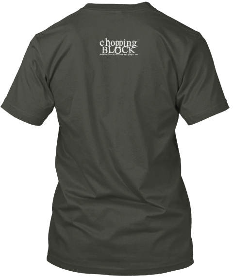 Chopping Block &Quot;Call Of Cthulhu&Quot; Shirt Smoke Gray T-Shirt Back