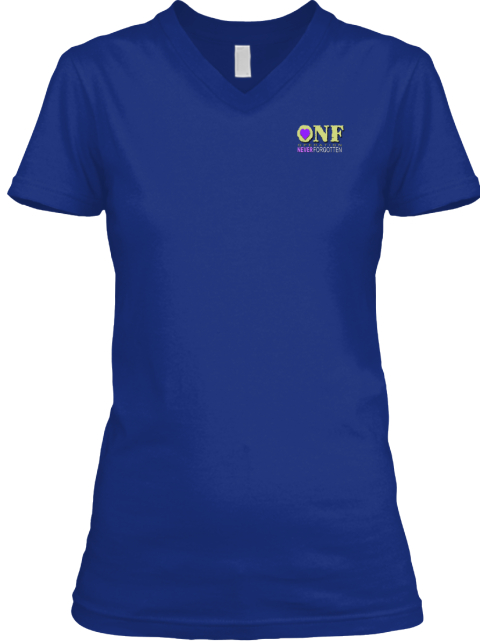 Veteran Caregivers Deep Royal T-Shirt Front