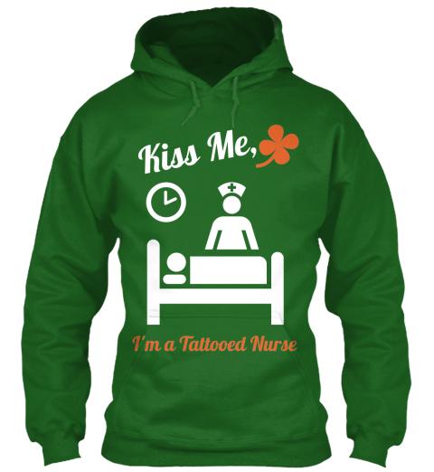 Ltd edition kiss a tattooed nurse kiss me i 39 m a for Tattooed nurse shirt
