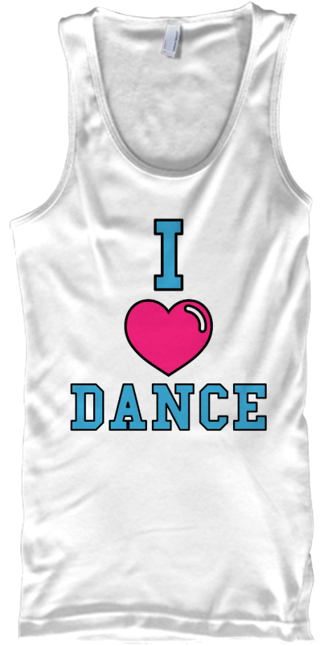 I love dance fundraiser i dance products teespring for Sell t shirts for charity
