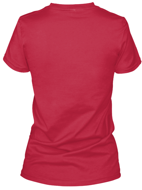 Limited   V Neck   Nurse Heartbeat Red T-Shirt Back