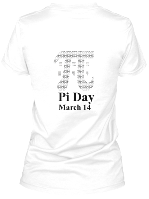Pi Day 2015 Shirt on how long is 13 centimeters