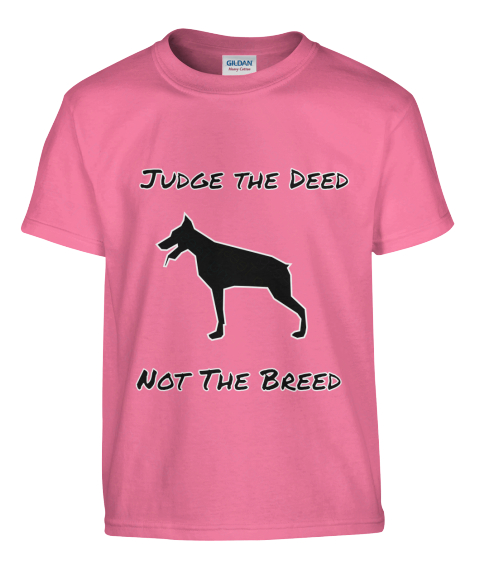 judge the breed not the deed Imagine that a german shepherd dog recently bit a 2-year-old child in your community the child's parents had taken their child to play at a park.