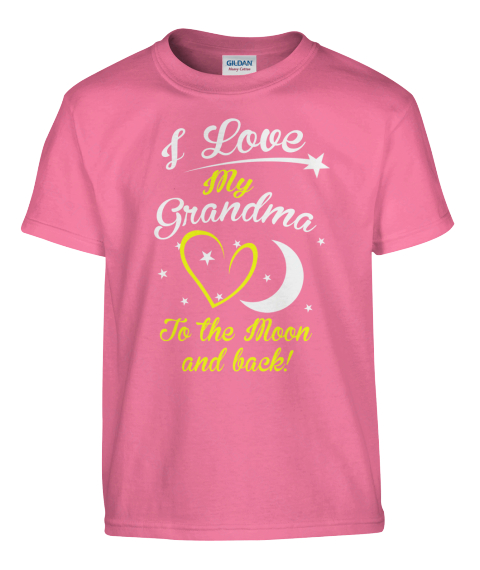 Do They Love Their Grandma? Azalea T-Shirt Front