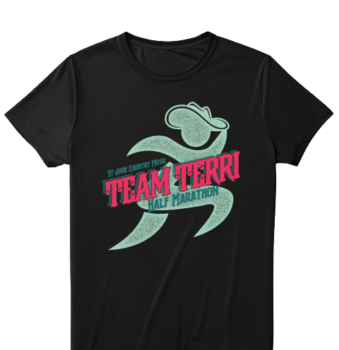 Limited edition team terri gear to support st jude for St jude marathon shirts