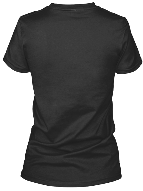 What Would Gemma Do? Black T-Shirt Back